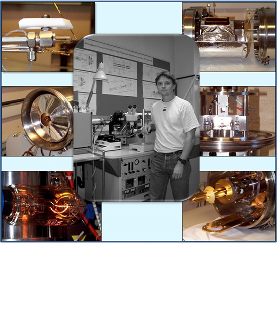 A collage of images on various instruments used in the group.